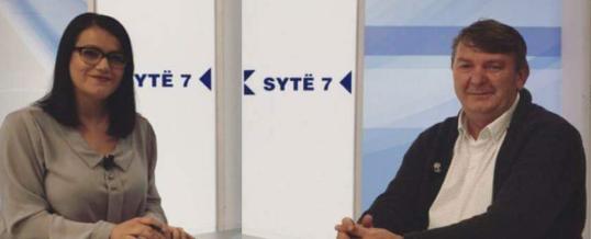 Intervista e Kryetarit të FSSHK-së në Klan Kosova ora 7