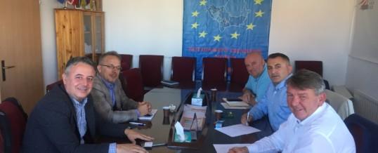 Delegacioni i FSSHK takohet me Asociacionin e Mjekëve Familjarë te Kosovës