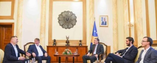 Takim me Kryetarin e Kuvendit te Republikës së Kosovës