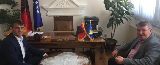 Takim me Kryetarin e Komunës së Dragashit