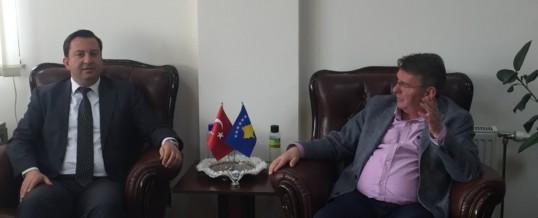 Takim me Kryetarin e Komunës së Mamushës