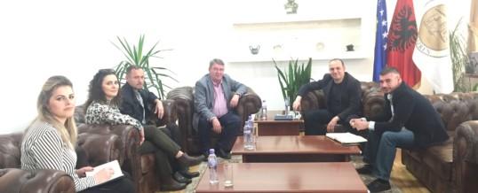 Takim me Kryetarin e Komunës së Prizrenit