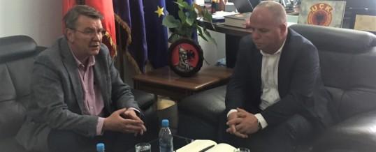 Takim me Kryetarin e Komunës së Rahovecit