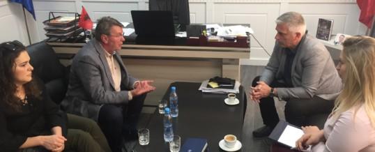 Takim me Nënkryetarin e Komunës së Mitrovicës