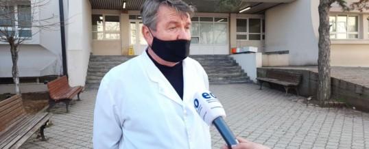 Intervista e Kryetarit të FSSHK-së Dr.Blerim Syla me temë Mjekët e Kosovës nuk po mund t'i marrin vaksinat në Shqipëri, shkaku i neglizhencës nga Ministria e Shëndetësisë që nuk e dërgoi listen