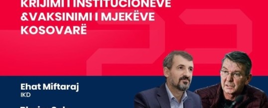 Intervista e Kryetarit të FSSHK-së Dr.Blerim Syla të dhënë në ATV në ora 23:00 lidhur me vaksinimin e mjekëve kosovarë në Shqipëri