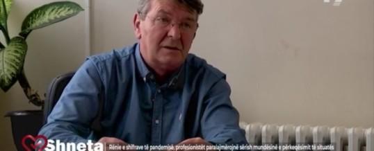 Intervista e Kryetarit të FSSHK-së Dr.Blerim Syla të dhënë për emisionin Shneta në T-7.